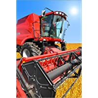 Premium-Poster Roter Traktor Helmut Kollars