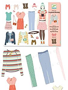 Paper Doll Le grand dressing Djeco