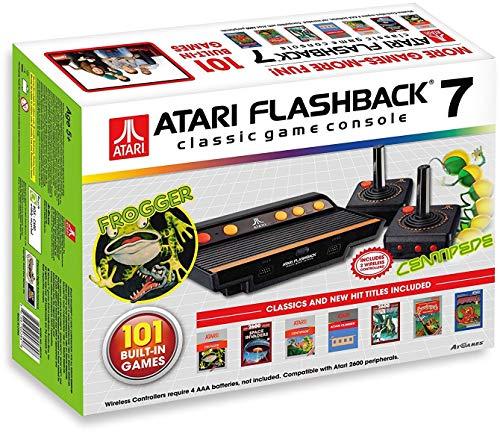 Foto Atari jvcretr0100classico retrò console di gioco con 101Gioco colore: antracite