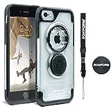 Rokform Krystal Sport Etui avec Magnetic Support voiture pour Apple iPhone 7Noir/Transparent