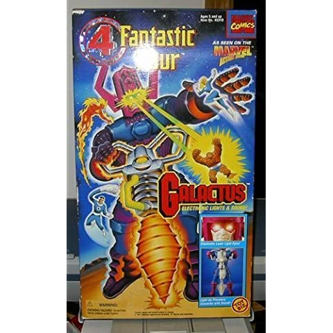 FANTASTIC FOUR GALACTUS' 14 w/ Electronic Lights & Sounds by Toy Biz