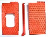 playmobil ® - Ritterburg 3665 3666 3667 - Burg- 2 Dach Dachteile mit Verbinder