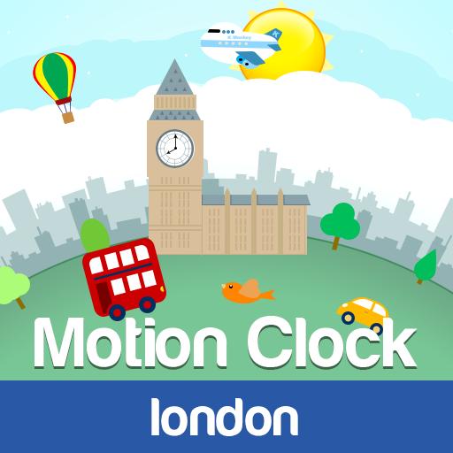 Motion Clock: London