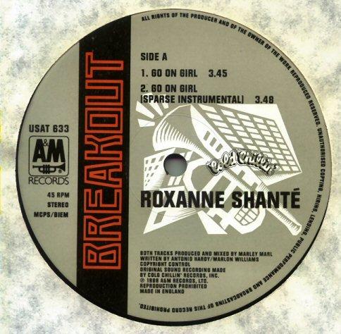 Roxanne Shanté - Go On Girl - Breakout - USAT 633