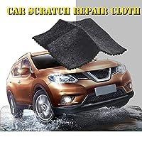 Car Scratch Repair Cloth, Multipurpose Auto Paint Scratch Remover Nano Scuffs Strong Decontamination Clean Tool Car Beauty Supplies