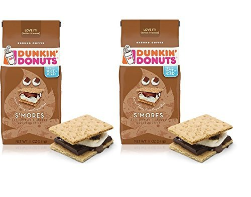 dunkin-donuts-smores-ground-coffee-11-oz-2-pack-by-dunkin-donuts