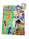 Lidl Stikeez Magazin Nr. 1 mit Fussball EM Spielplan & Fussball Tattoos