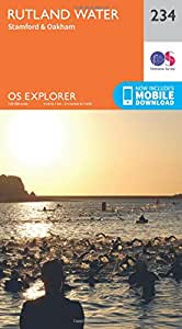 OS Explorer Map (234) Rutland Water, Stamford and Oakham