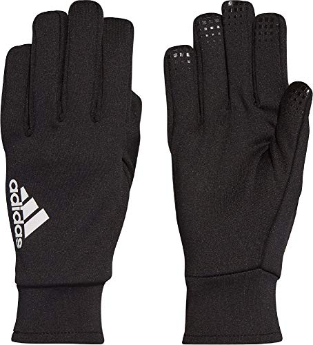 adidas Fieldplayer CP Soccer Gloves, Black/White, 5 -