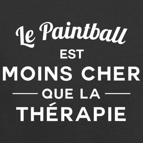 Le paintball est moins cher que la thérapie - Femme T-Shirt - 14 couleur Noir