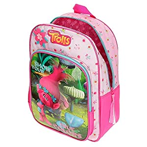 51UkDV0Wc3L. SS300  - Trolls 27523M1 True Colors Mochila Escolar, 40 cm, 19.2 Litros, Multicolor