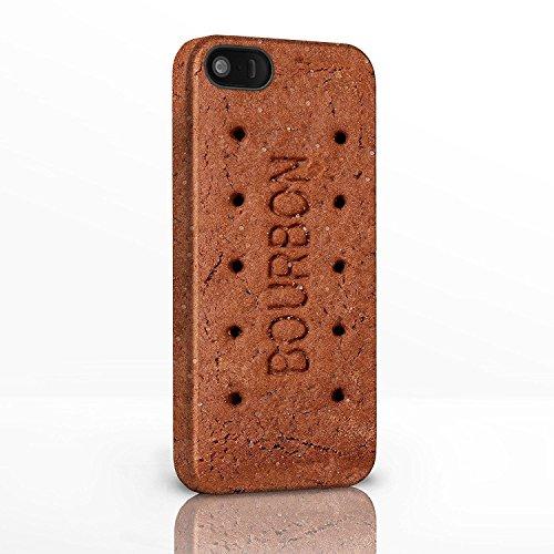 Sweet Shop Collection Handy Fällen für das iPhone Serie. Retro Pick & Mix Hartschalen Rückseite Glossy Cover für iPhone Modelle., plastik, 21: Choc Chip Cookie, iPhone 4 / 4S 19: Bourbon Biscuit