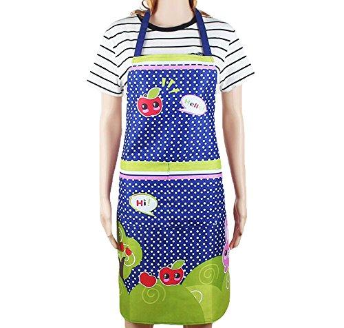 Xuxuou Kochschürze Chef Suits Chef Kleidung Kochen Kleidung Schürze mit Taschen Zubehör Schürze Prinzessin Cute Waterproof Cartoon Wasser Öl (Kochen, Kleidung)