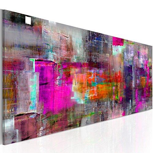 murando - Bilder 150x50 cm - Leinwandbilder - Fertig Aufgespannt - Vlies Leinwand - 1 Teilig - Wandbilder XXL - Kunstdrucke - Wandbild - Abstrakt a-A-0217-b-c