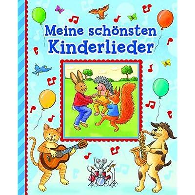 Meine schönsten Kinderlieder - Pappbilderbuch mit Notensatz zum Mitsingen
