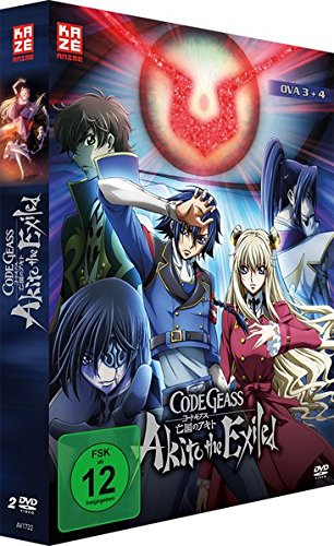 Code Geass - Akito the Exiled: OVA 3 + 4 [2 DVDs]