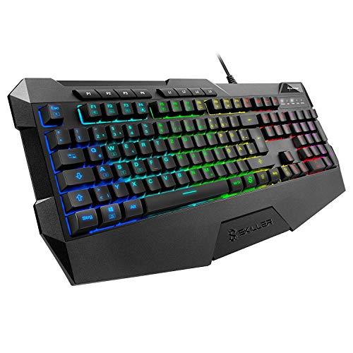 Sharkoon SGK4 - Teclado Gaming Membrana RGB Español