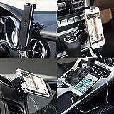 MFI iPhone Autohalterung, Sinjimoru iPhone Halterung mit USB Ladegerät/ Handyhalterung Auto inkl. MFI Lightning Kabel für iPhone 7 / 7 Plus / 6 / 6 plus / 5 / 5s / 5c. Sinji Car Kit, iPhone MFI Paket. - 6