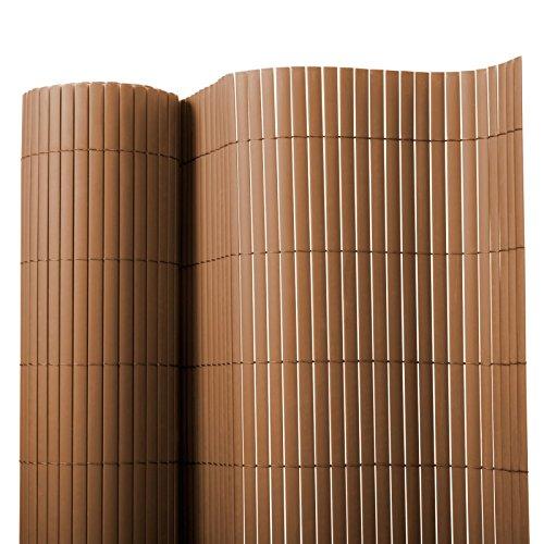 Brise vue casa pura® en marron | brise-vent pour l'usage extérieur | tailles diverses - matière robuste | 150x300cm