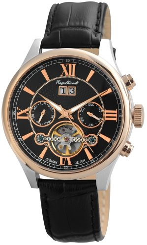 Engelhardt Men's Watch XL Analogue Automatic Leather 388931029005