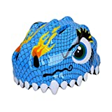 #3: Magideal Children's Cartoon Bicycle Safety Helmet Mountain Bike Cycling Helmet Blue