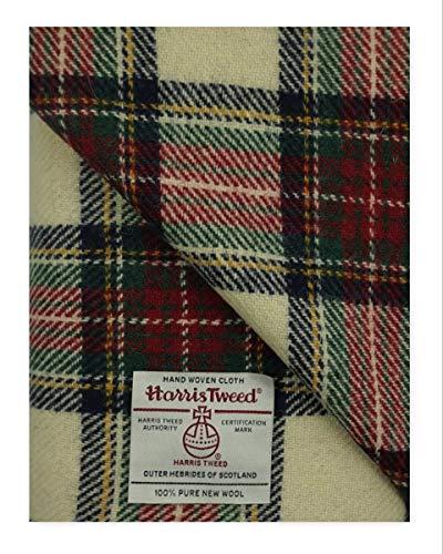 Harris Tweed-Stoff, 100% Reine Wolle, mit Etiketten, 75 x 50 cm Oct203 - Siehe die ganze Reihe von...