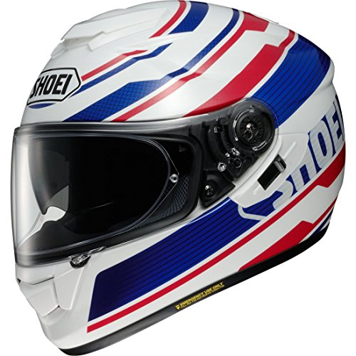 Casco integral Shoei GT Air Primal blanco azul rojo Talla XL