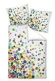 Janine Design Mako-Satin Bettwäsche modern Art 42030-09 Multicolor 155x220 cm + 80x80 cm
