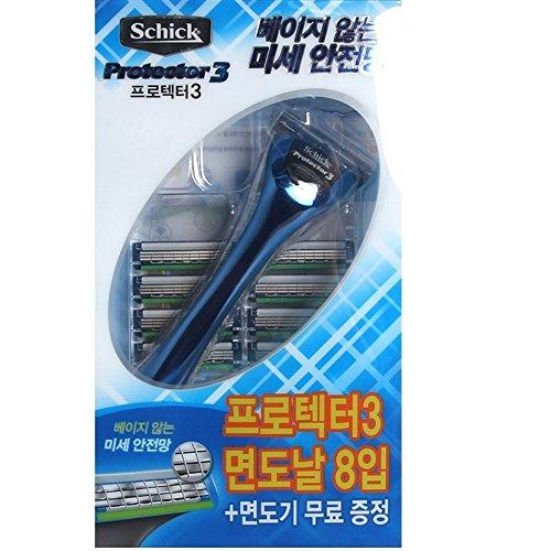 schick-protector3-1-rasoir-9-cartouches-recharges-lame