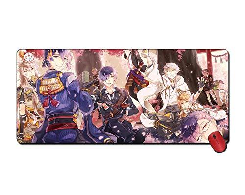SKTCNB Mauspad Mit Schwert Tanzspiel Anime 700 * 300Mm Verbessern Geschwindigkeit Und Präzision Laptop Schreibtisch Matte Color_C