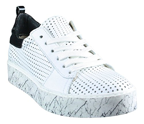 Mjus, Sneaker donna bianco bianco, bianco (bianco), 37 EU