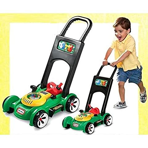 Great Gift For Kids ! Lawn Mower Kids Child's Push Along Garden Toy / Game Play Educational Creative Toddler Boys Girls Unique Special Birthday Gift Party Christmas XMAS Present Idea Construction Garage Outdoor Child Kiddie Childrens Kids Home Lawn Room Yard Backyard Play Playing Classic Retro Little Learning Development Developmental Building Craft Art Drawing Action Popular Preschool Activity Traditional Stuff Cute
