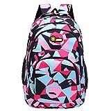 HCFKJ Schultasche, Rucksack Teenager Mädchen Jungen Schulrucksack Camouflage Printing Studenten Taschen (PK)