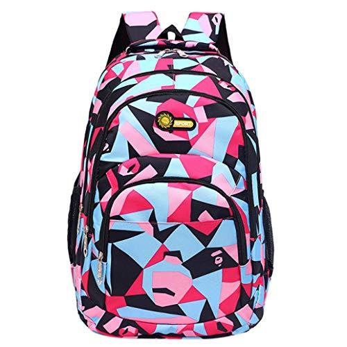 HCFKJ Schultasche, Rucksack Teenager Mädchen Jungen Schulrucksack Camouflage Printing Studenten Taschen (PK) (Scout Burton)