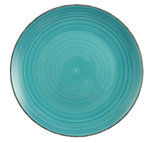 villa-deste-baita-service-6-assiettes-plates-gres-emaille-peint-a-main-turquoise