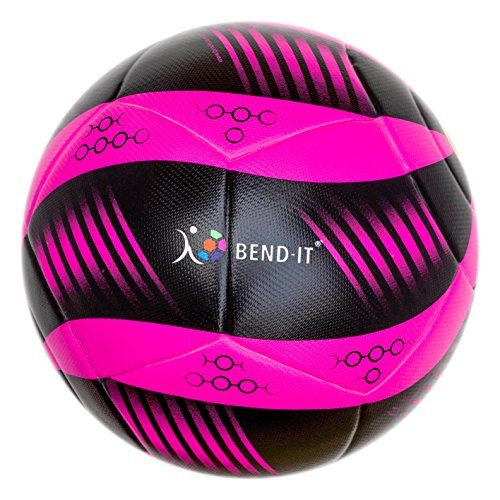 Bend-It Curl-It Pro Amber, Size 5 Football, Official Match Ball