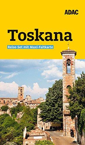 ADAC Reiseführer plus Toskana: Das ADAC Reise-Set mit Maxi-Faltkarte zum Herausnehmen
