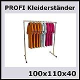 raff 100x110x40 KLEIDERSTÄNDER TEXTILSTÄNDER Garderobe FREISTEHEND-S100