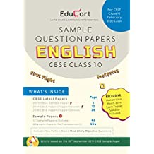 Educart CBSE Sample Question Papers Class 10 English For February 2020 Exam