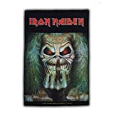 IRON MAIDEN - Eddie Candle Finger - Flagge Posterflagge / Textile Poster Flag