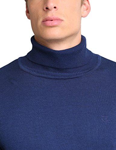 James Tyler Herren Rollkragenpullover Blau (Navy)