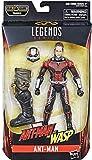Hasbro Marvel Legends Series- Ant-Man Action Figure da Collezione, 15 cm, Ispirata al Film, Multicolore, E3984CB0