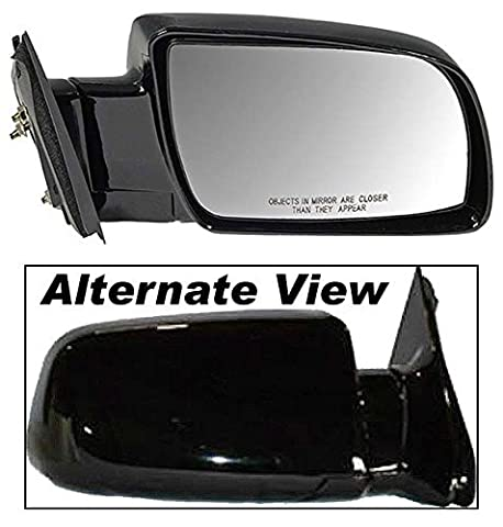 APDTY 066216 Side View Mirror Assembly Manual Adjust Glass Fits Right Passenger-Side 1992-1994 Chevy Blazer 1988-1999 C or K 1500 2500 Series Pickup 1995-2000 Chevrolet Tahoe 1992-2000 GMC Yukon by APDTY