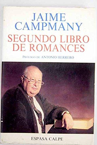 Segundo libro de romances