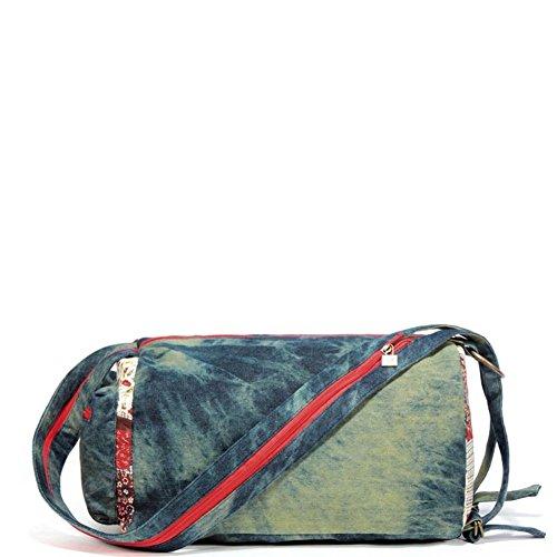 La signora stampa borsa di tela/Coreano Shoulder Bag Messenger/totalizzatore/Zaino Zipper-A A