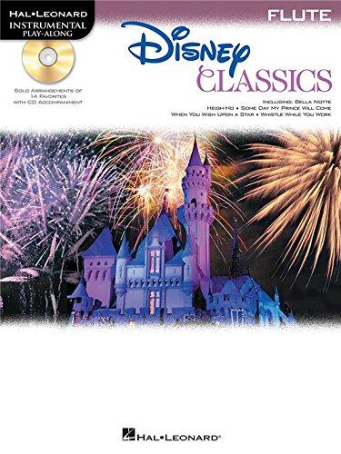 Flute Play-Along: Disney Classics. Partitions, CD pour Flûte Traversière