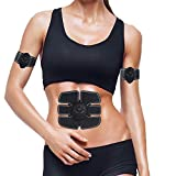 Electroestimulador Muscular Abdominales, cinturón fitness, Masajeador...