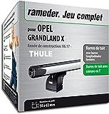Rameder Pack Barres de Toit SlideBar pour Opel GRANDLAND X (147926-38031-1-FR)