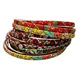 #8: Evolution Hair Band Multicolored Fashionista Hair Band, Head Band, for Women/Girls (Pack of 12)