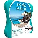 LA VIDA ES BELLA - Caja Regalo - DOS DÍAS DE RELAX - 300 hoteles de hasta 4* con bañera de...